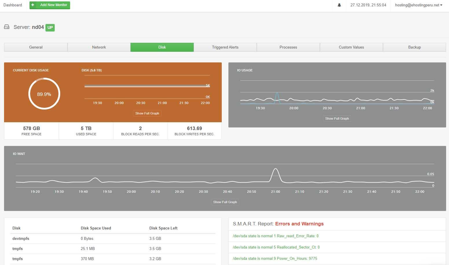 CloudStats: Herramienta de monitoreo para servidores